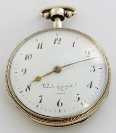 Vacheron & Constantin à Genève (established 1819), scarce early quarter repeating verge fusee with stop-works, 56mm