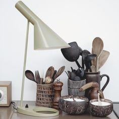 AJ table lamp Louis Poulsen.