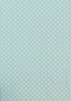 LITTLE LEAF, Aqua, T9163, Collection Avalon from Thibaut