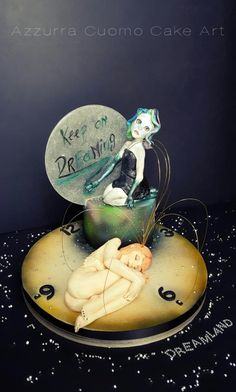 """DREAMLAND COLLABORATION: """"Keep on dreaming""""  - Cake by Azzurra Cuomo Cake Art"""