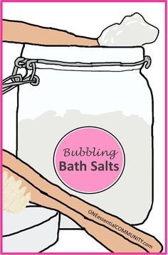 Bubbling Bath Salts {made with essential oils}-- Do you love detox Epsom salt baths AND you also love a good, old fashioned bubble bath? Well, now you don't have to choose. Bubbly Bath Salts is BOTH a detox Epsom salt bath AND a bubble bath. What a fantastic way to relax and soak your cares away!