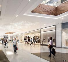 Mall Facade, Retail Facade, Shop Facade, Building Facade, Architecture Portfolio Layout, Architecture Visualization, Mall Design, Shop Front Design, Shoping Mall