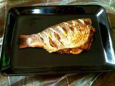Mennyei Sült hal pác recept! Az így pácolt hal szép piros, ropogós, a húsa pedig olyan, mint egy ízletes, omlós csirkemell falat. Ponty, pisztráng vagy akár tengeri haltörzs pácolásához.