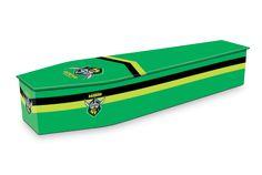 Canberra Raiders Coffin Design