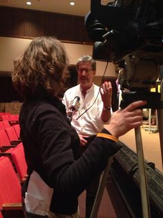 """From Samantha Buker @essiebees on Twitter """"@C_Shaughnessy is at Cedar Crest College for a performance - being interviewed by News!"""" pic.twitter.com/uhnKo54mO8   #susanfallender #frankmegna #relatedbiblood @cedarcrestcollege"""""""