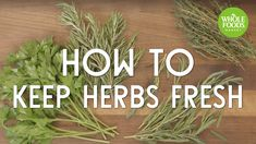When it comes to cooking, there's nothing more inspiring than fresh herbs so make the most of them with this quick and easy tip. Simply roll them up in a pap...