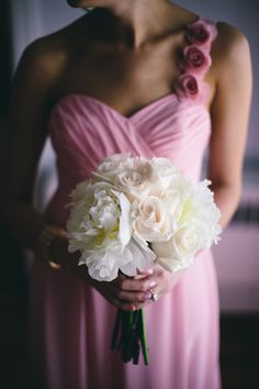 #Pink #Bridesmaids #Dresses ♥ For an easy-to-follow 'Wedding Planning Guide' ... https://itunes.apple.com/us/app/the-gold-wedding-planner/id498112599?ls=1=8 ♥ For more wedding inspiration ... http://pinterest.com/groomsandbrides/boards/ & magical wedding ideas.