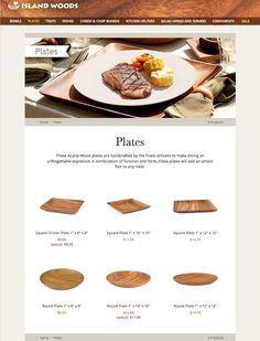 Kitchen Helper, Wood Bowls, Acacia Wood, Woods, Artisan, Tray, Plates, Island, Meals