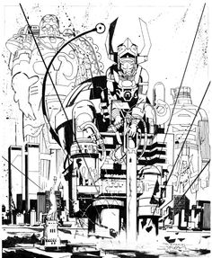 Galactus by John Paul Leon *