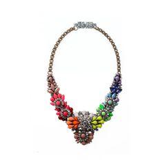 Apolonia Rainbow necklace by Shourouk