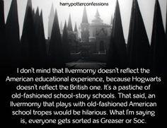 I dont mind that Ilvermorny doesnt reflect the. Slytherin, Hogwarts, American Wizarding School, Popular Logos, Beast, Reflection, Harry Potter, Fandom, Mindfulness