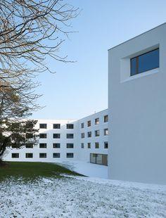Gallery of Elderly Care House / Geninasca Delefortrie Architectes - 7