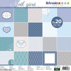 Papier Scrapbooking Artemio - Noël Givré - 30,5 x 30,5 cm - 40 feuilles http://www.creavea.com/papier-scrapbooking-artemio-noel-givre-305-x-305-cm-40-feuilles_boutique-acheter-loisirs-creatifs_76625.html