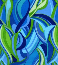 Lisette Collection- Vine Teal Blue Lawn: apparel fabric: fabric: Shop | Joann.com