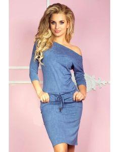 Blue dress #fashioneda