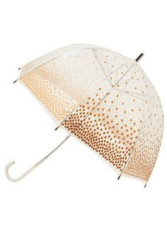 golden raindrops umbrella!