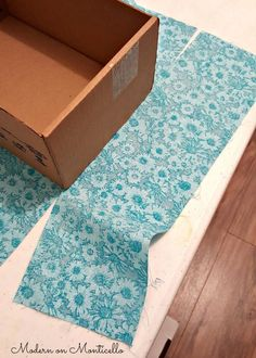 Fabric Covered Storage Boxes