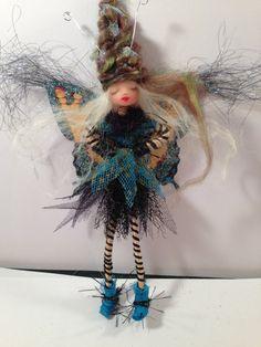 OOAK Fairy Faerie Handmade Poseable Polymer Clay by FunFairy291