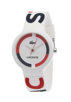 Lacoste  Rubber Strap Lacoste Logo Watch Cheap Luxury Watches, Trendy Watches, Elegant Watches, Cool Watches, Gold Watches Women, Rose Gold Watches, Watches For Men, Lacoste Clothing, Gents Shoes