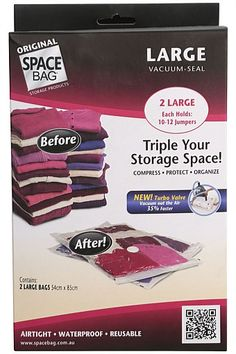 Bed - Space Bag 2-Pack Large