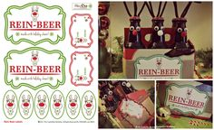 FREE Rein-Beer Printable Kit - Holiday Gift - The CreativiDee Workshop