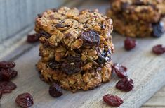 Cherry Almond Butter Power Cookies are the smart way to satisfy your sweet tooth! #recipe