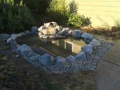 Pond almost done