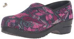 Sanita Women's Vegan-Tapestry Mule, Pink, 43 EU/12 M US - Sanita mules and clogs for women (*Amazon Partner-Link)