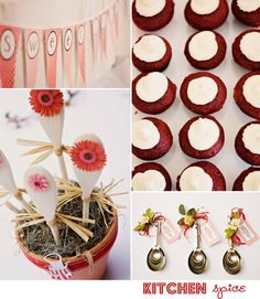 kitchen spice | bridal shower