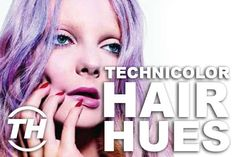 These Hair Coloring Ideas Make Artwork Out of Everyday Hairdos #dyed #hair trendhunter.com