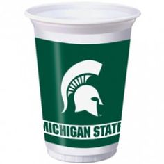 Michigan State Spartans 20-oz Cups (8 Pack)