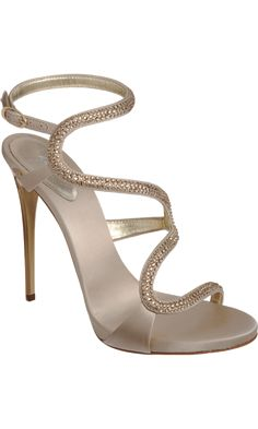 Giuseppe Zanotti Jewel-Embellished Sandal. I wish I had somewhere to wear a shoe like this.