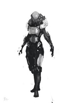 ArtStation - Character sketch, Bri in the Sky -