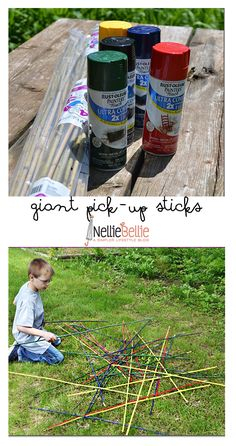 These are so fun!! And easy. What a great idea for family reunions and picnics!
