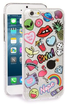 Cell Phone Cases - Skinnydip 'Doodle' iPhone 6 & Case available at - Welcome to the Cell Phone Cases Store, where you'll find great prices on a wide range of different cases for your cell phone (IPhone - Samsung) Funda Iphone 6s, Smartphone Iphone, Capas Iphone 6, Coque Iphone 6, Iphone 6 Cases, Diy Phone Case, Cute Phone Cases, Iphone 5c, Iphone 7 Plus