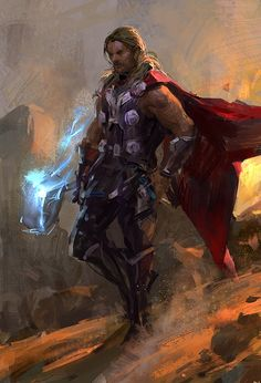 Thor, God of Thunder Comic Book Characters, Marvel Characters, Comic Books Art, Comic Art, Marvel Comics Art, Marvel Heroes, Marvel Avengers, Asgard, Comic Book Collection