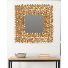 Shop for Safavieh Borghese Antique Gold Mirror. Get free shipping at…