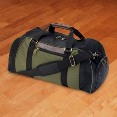 Personalized Logan Deluxe Duffel Bag