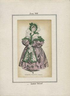 Ladies' Cabinet v. 16, plate 7 June, 1835