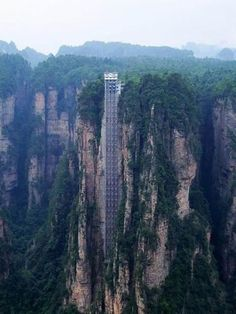 Bailong Elevator, Hunan, China