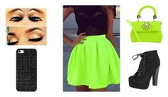 """Going to the club"" by diamondj205 on Polyvore featuring Breckelle's, Philipp Plein and BaubleBar"