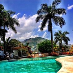 Hotel Montana-Haiti. I used to spend nearly every Saturday here swimming & eating lunch with my family