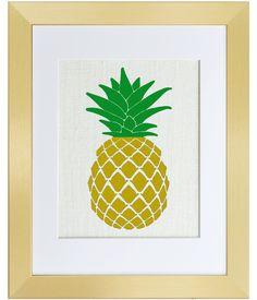 Golden Pineapple - Fiber and Water