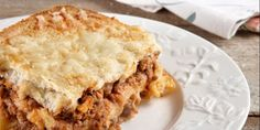 Σουφλέ με κιμά και φέτες του τοστ Apple Pie, Lasagna, Food And Drink, Cooking, Ethnic Recipes, Desserts, Tarts, Kitchen, Tailgate Desserts