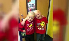 What This 1st Grader Did For His Friend With Cancer Will Bring You To Tears