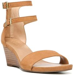 Women Bassena Wedge Sandal Nude Faux Leather Products Pinterest