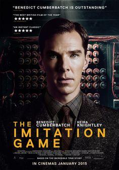 "The Imitation Game (UK/USA: Morten Tyldum, 114 mins) Cohen, Josh. "" The Imitation Game and the complicated byproducts of adapta. Streaming Movies, Hd Movies, Movies To Watch, Movies 2014, Movies Online, Alan Turing, Benedict Cumberbatch, The Imitation Game Movie, Love Movie"