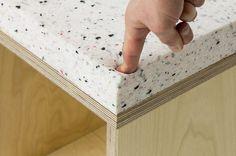 foam + plywood