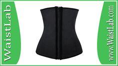 Charmian Women's Latex Underbust Waist Training Steel Boned Shapewear Corset Review