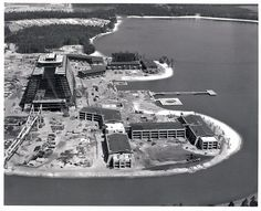 Construction of the Contemporary Resort 1970-1971